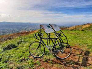 Salita al monte tuscolo in bicicletta paolo rodari 1