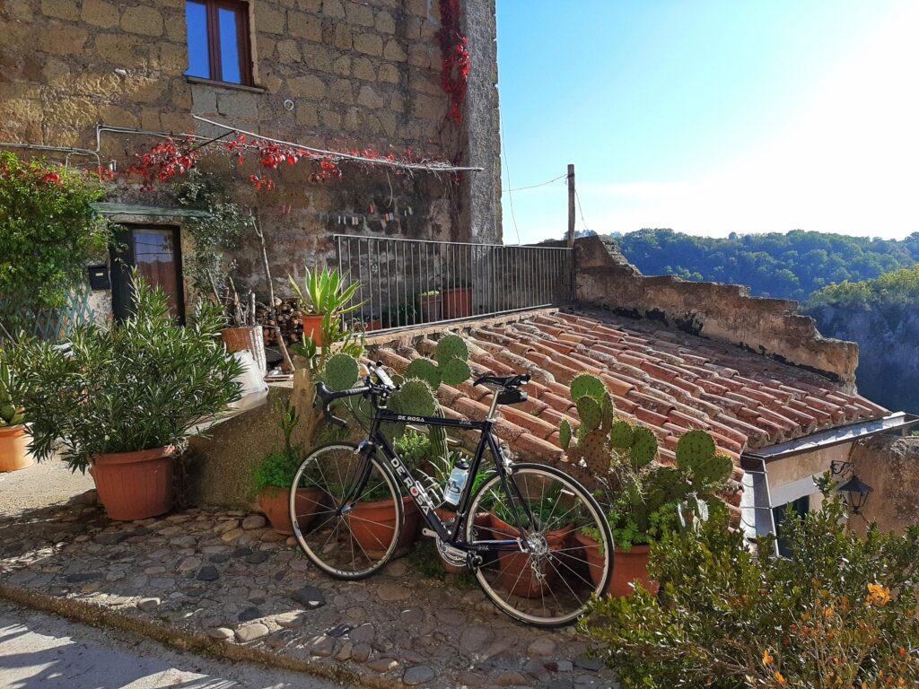 Percorso cicloturistico calcata in bicicletta da Sacrofano
