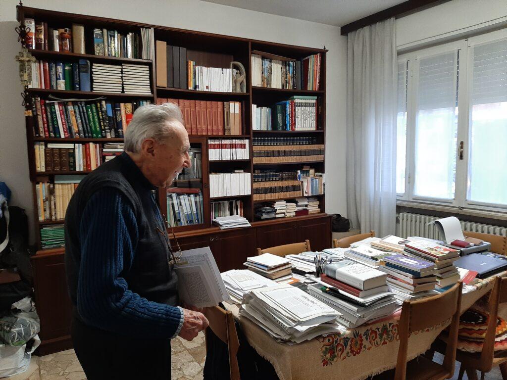 Intervista al teologo Carlo Molari